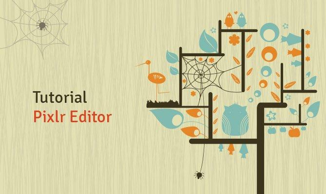 tutorial pixlr editor