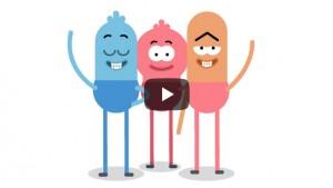 ´Previsualización video personajes saludando
