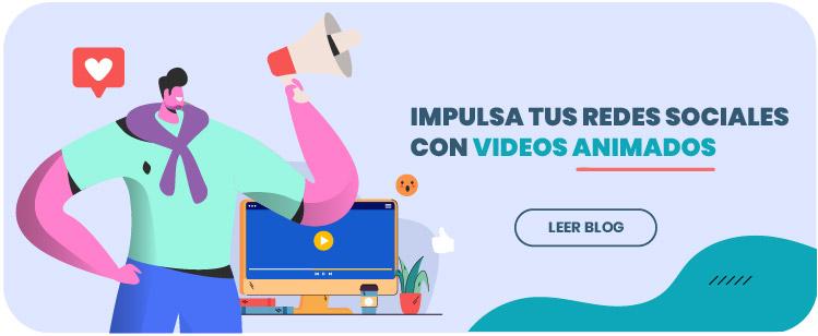 Impulsa tus redes sociales con videos animados