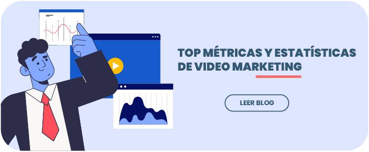 Enlace a métricas y estadísticas del video